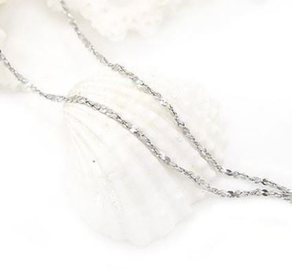 Picture of 925 Sterling Silver Gypsophila Necklace Chain